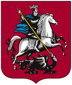 Герб столицы Россия - Москвы
