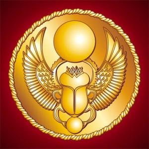 скарабей, как символ древнего Египта