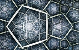 фрактал пятиугольник