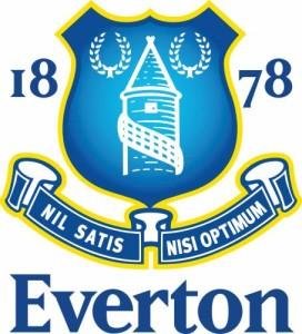 Эмблема футбольного клуба Эвертон