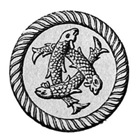 три рыбы переплетенные - символ Троицы