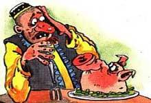 фразеологизм в картинках подложить свинью
