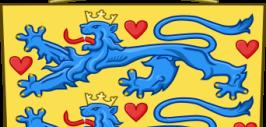 изображение герба страны Дании
