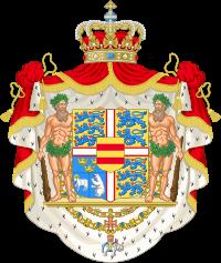 изображение герба королевства Дании