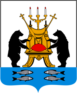 описание элементов герба Великого Новгорода