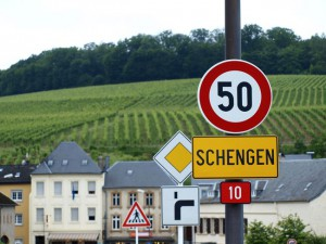 Отсюда суть пошла шенгенская земля