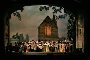 Заключительная сцена оперы