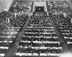 Первое заседание Лиги наций 10 февраля 1920 года
