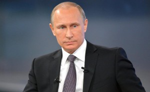 Президент России В. Путин