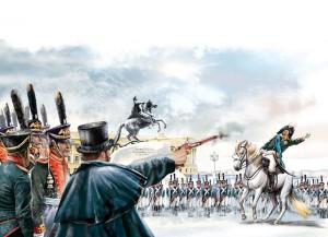 Каховский убивает петербургского генерал-губернатора Милорадовича