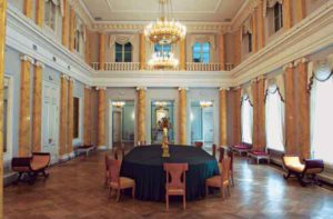 Зал, где проходили собрания «Беседы»