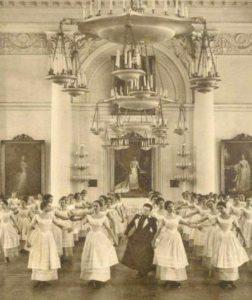 Урок танцев в Смольном институте