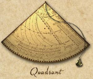 Старинный квадрант